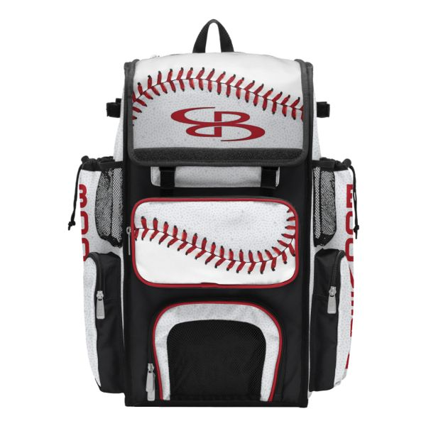 Superpack 2.0 Bat Bag Baseball 2.0 White/Red/Black