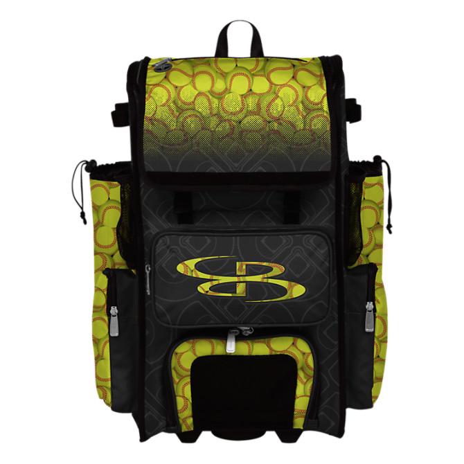 Superpack Softball Rolling Bat Bag 2 0