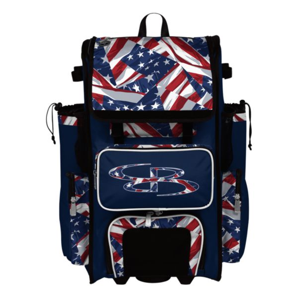 Superpack USA Independence Rolling Bat Bag 2.0