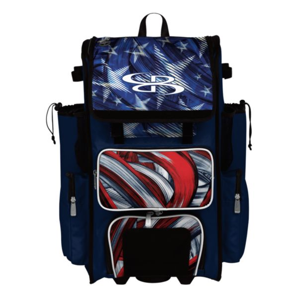 Superpack USA Wave Rolling Bat Bag 2.0