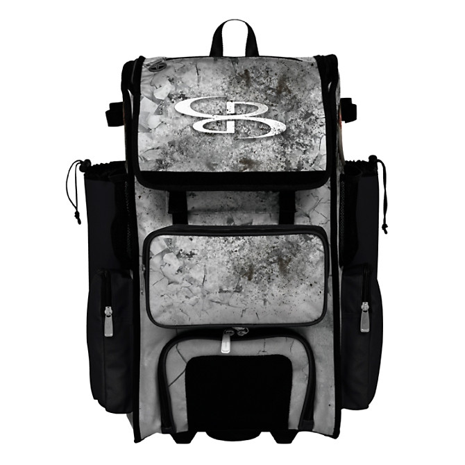 Superpack Crusher Rolling Bat Bag 2 0