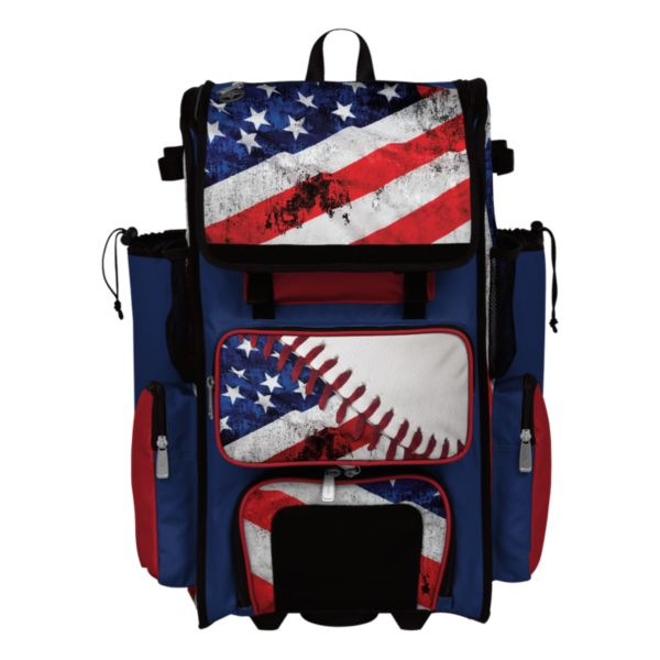 Superpack USA Baseball Rolling Bat Bag 2.0
