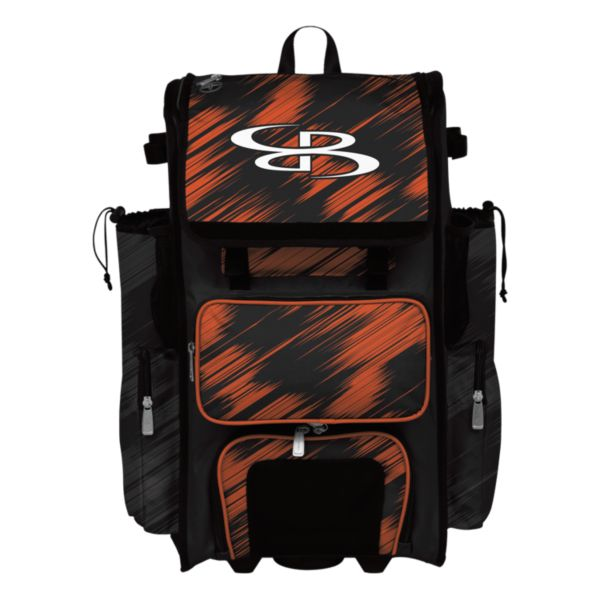 Rolling Superpack 2.0 Scratch Black/Orange