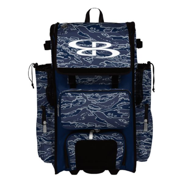 Rolling Superpack 2.0 Tiger Camo Navy/Gray