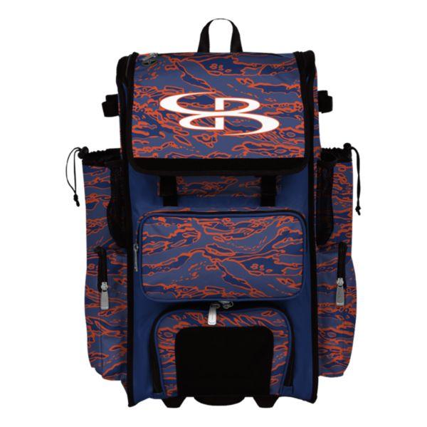 Rolling Superpack 2.0 Tiger Camo Royal/Orange
