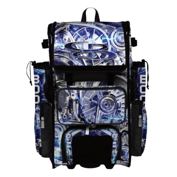 Superpack Overdrive Rolling Bat Bag 2.0