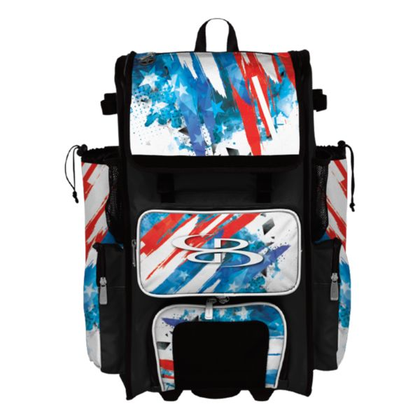 Rolling Superpack 2.0 USA Hot Rod Cyan/Red/White