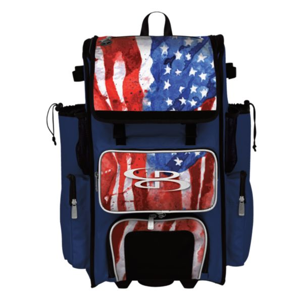 Rolling Superpack 2.0 USA Watercolor Royal Blue/White/Red