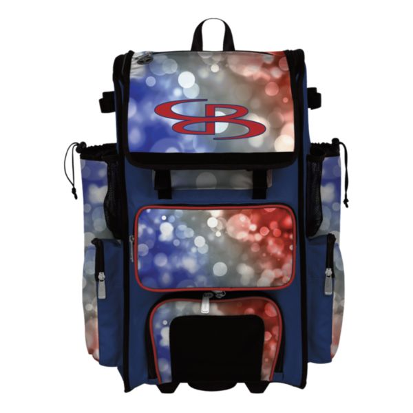 Rolling Superpack 2.0 USA Aura Red/Royal Blue/White