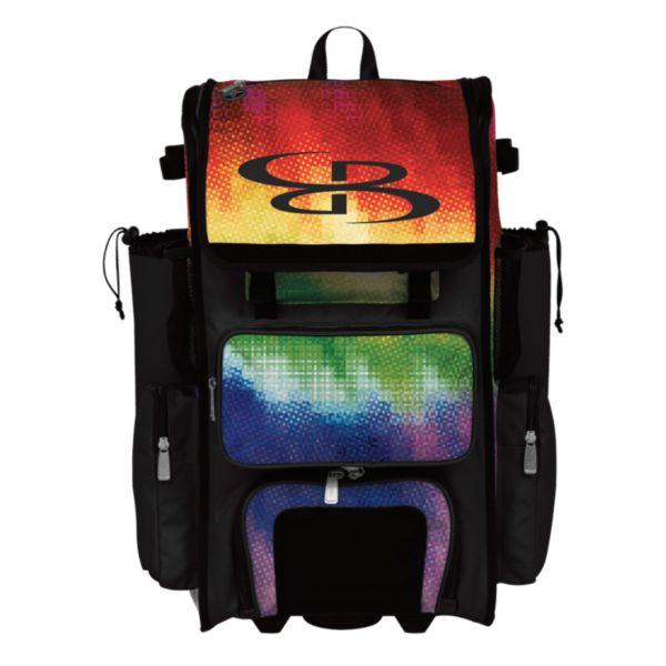 Superpack Pixelpop Rolling Bat Bag 2.0