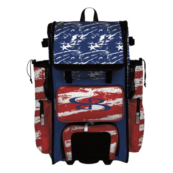 Rolling Superpack 2.0 USA Duty Red/Royal Blue/White