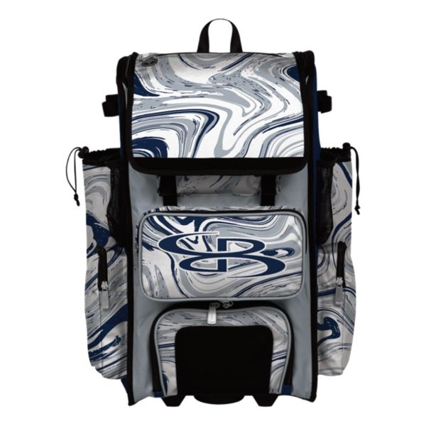 Rolling Superpack 2.0 Marbleized Navy/Gray/White