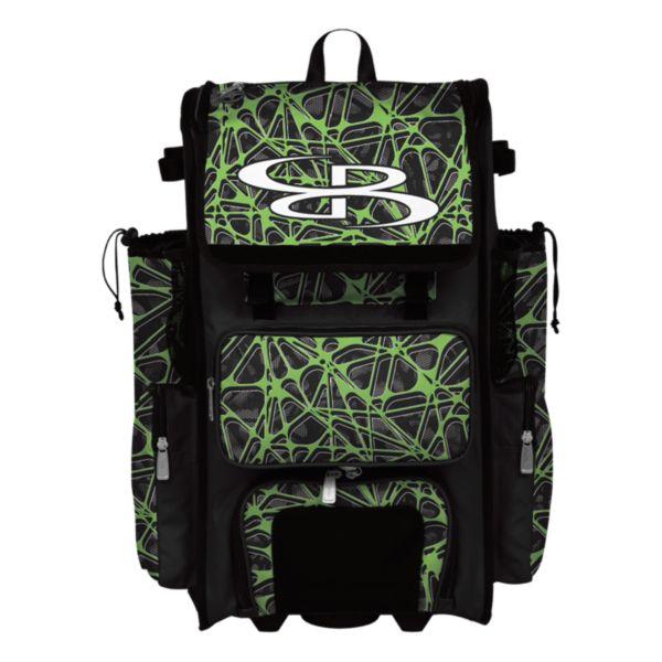 Rolling Superpack 2.0 Venom Black/Lime Green
