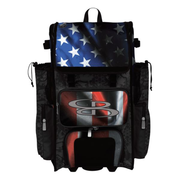 Rolling Superpack 2.0 Black Ops Black/Royal Blue/Red