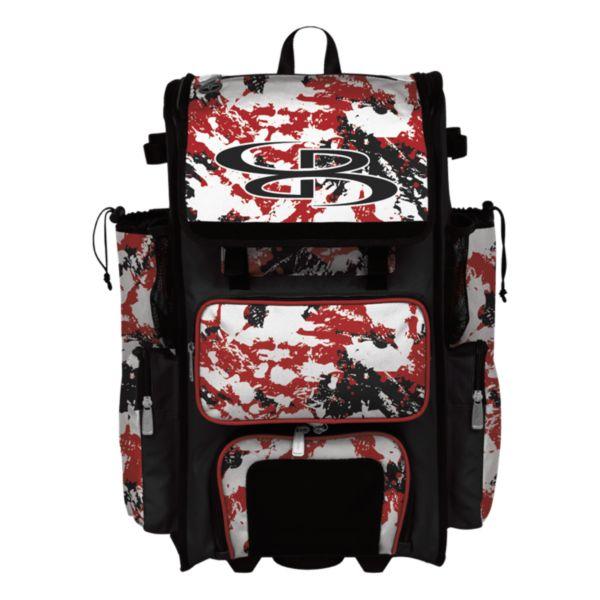 Rolling Superpack 2.0 Rocket Red/Black/White