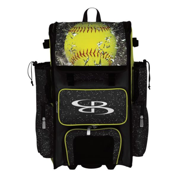 Rolling Superpack 2.0 Softball Highlight Black/Optic Yellow/Red