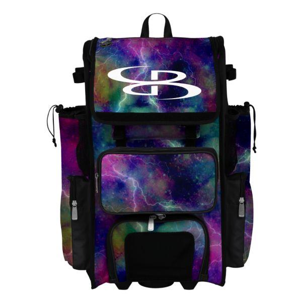 Superpack Nebula 2 Rolling Bat Bag 2.0