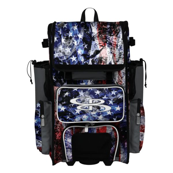 Rolling Superpack 2.0 USA Allegiance Charcoal/Royal Blue/White