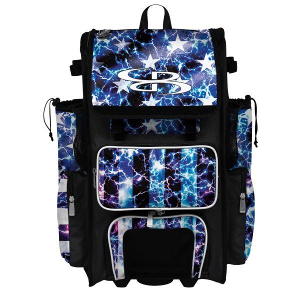 Rolling Superpack 2.0 USA Banner Black/Royal Blue/White