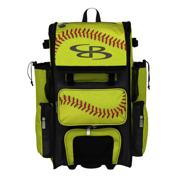 Rolling Superpack 2.0 Softball 2.0 Optic Yellow/Red/Black