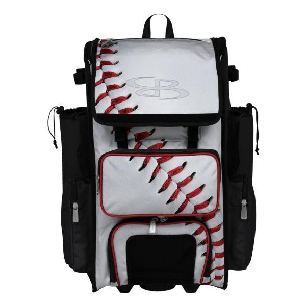 Rolling Superpack 2.0 Homerun Baseball White/Black/Red