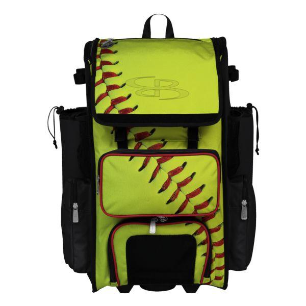 Rolling Superpack 2.0 Homerun Softball Optic Yellow/Black/Red