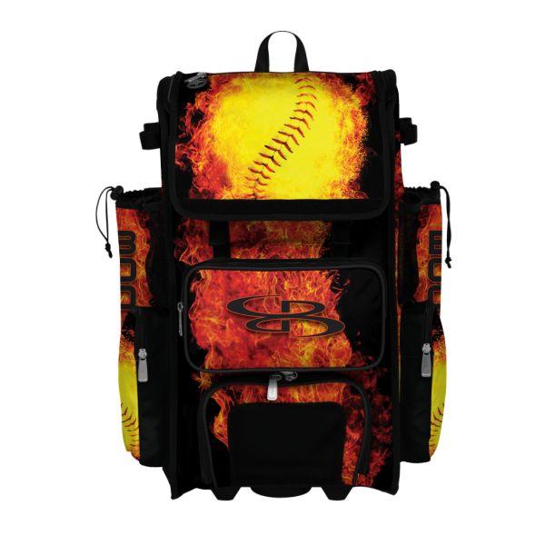 Rolling Superpack 2.0 Flame Thrower Black/Orange