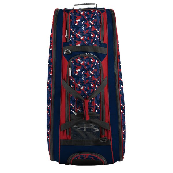Rolling Beast Bat Bag 2.0 Stealth Camo Navy/Red/White
