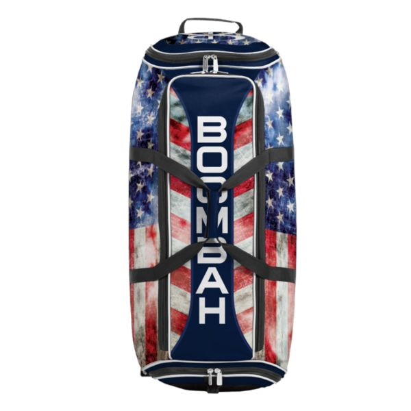 Brute Rolling Bat Bag 2.0 Old Glory Navy/Red/White