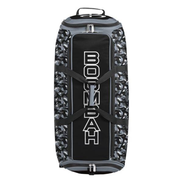 Brute Rolling Bat Bag 2.0 Stealth Camo Black/Gray/White