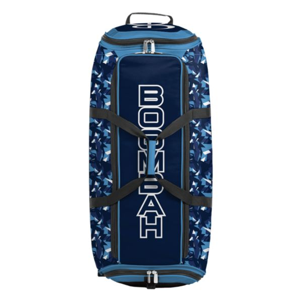 Brute Rolling Bat Bag 2.0 Stealth Camo Columbia/Navy/White