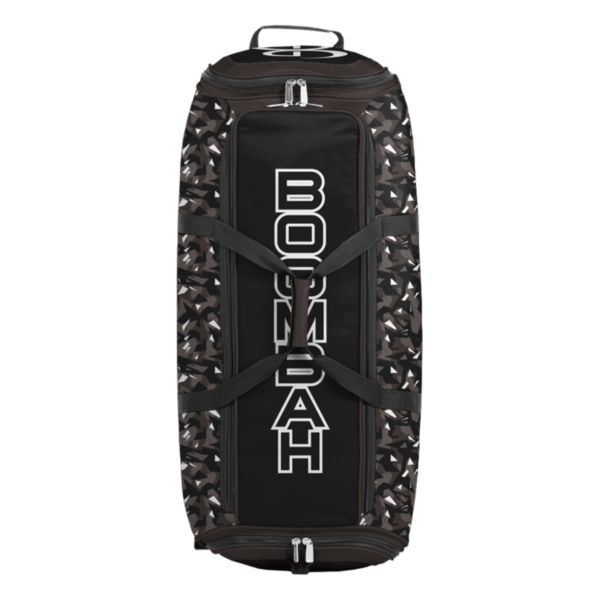 Brute Rolling Bat Bag 2.0 Stealth Camo Dark Charcoal/Black/White