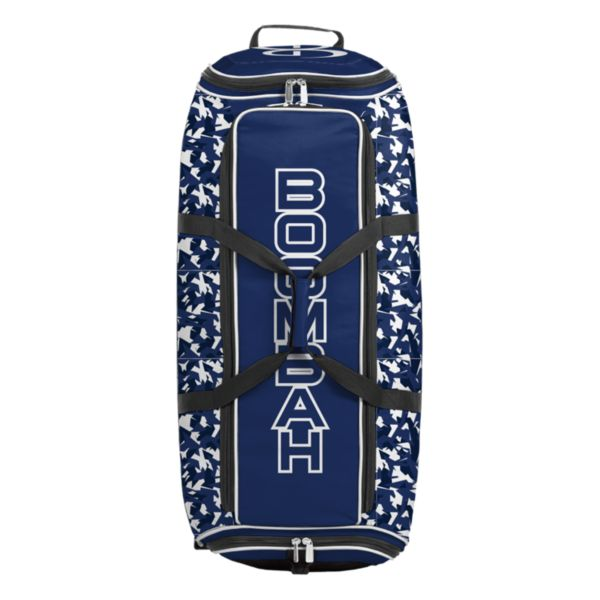 Brute Rolling Bat Bag 2.0 Stealth Camo Royal/White