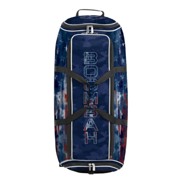 Brute Rolling Bat Bag 2.0 USA Patriotech Navy/Red/White