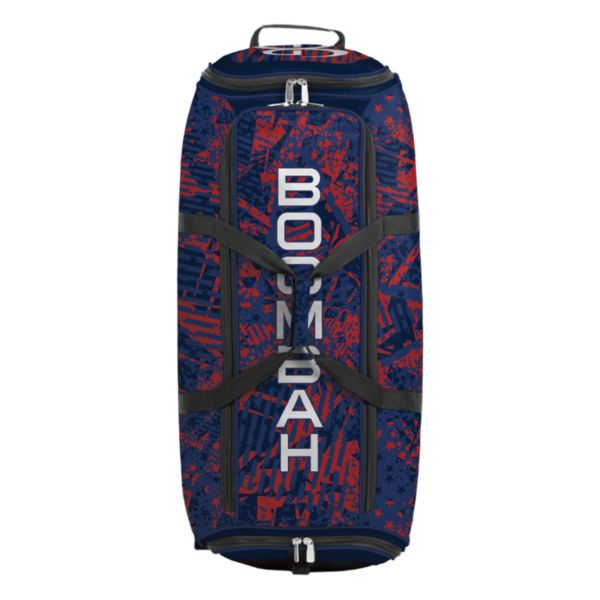 Brute Rolling Bat Bag 2.0 Outbreak Navy/Red/Royal
