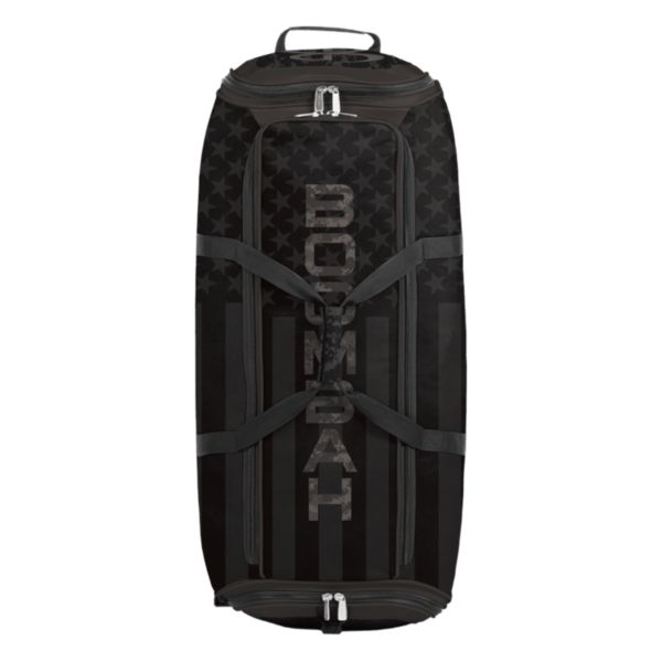 Brute Rolling Bat Bag 2.0 USA Clandestine Black/Dark Charcoal