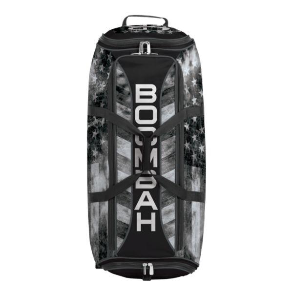 Brute Rolling Bat Bag 2.0 USA Old Glory Black Ops Black/Charcoal/White