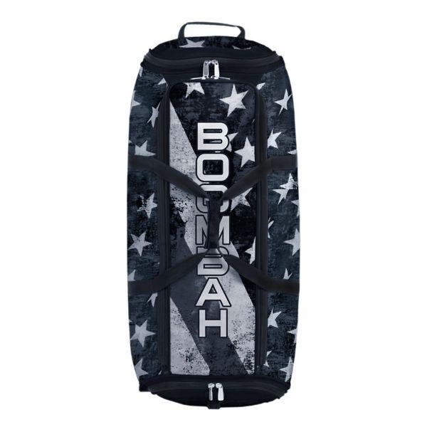 Brute Rolling Bat Bag 2.0 USA Old Stars & Stripes Black Ops Black/White