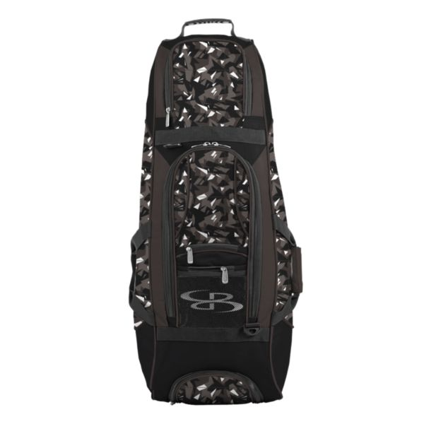 Spartan Rolling Bat Bag 2.0 Stealth Camo Dark Charcoal/Black/White