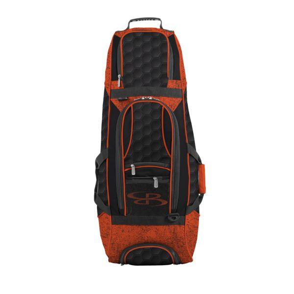 Spartan Rolling Bat Bag 2.0 3DHC Black/Orange