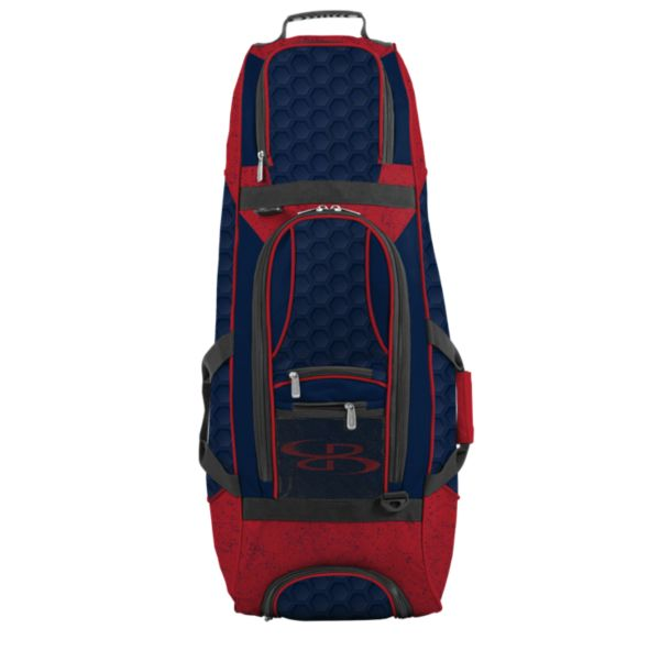 Spartan Rolling Bat Bag 2.0 3DHC Navy/Red