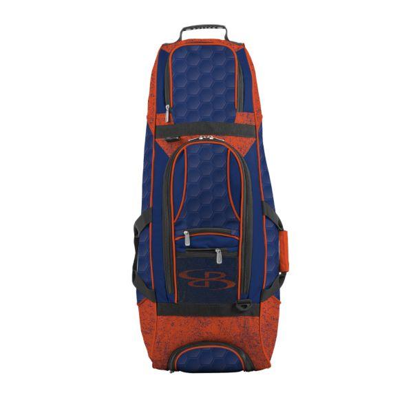 Spartan Rolling Bat Bag 2.0 3DHC Royal Blue/Orange
