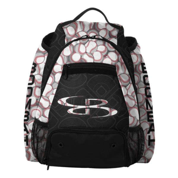 Core Batpack Baseball Black/White/Red