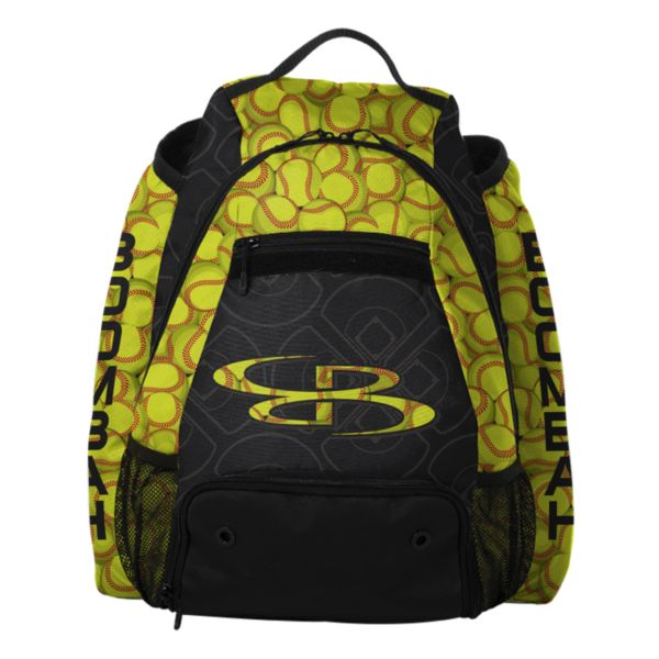 Core Batpack Softball Black/Optic Yellow/Red