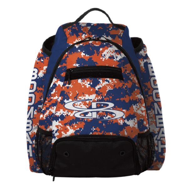 Prospect Batpack Camo Royal Blue/Orange