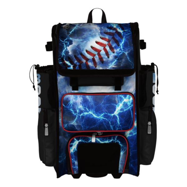 Superpack Hybrid The Natural Bat Pack Black/Red/White