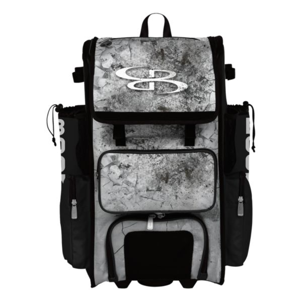 Rolling Superpack Hybrid Crusher Bat Pack Black/Gray/White