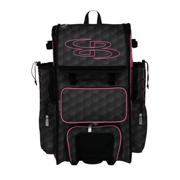 Rolling Superpack Hybrid 3DHC Bat Pack Black/Pink
