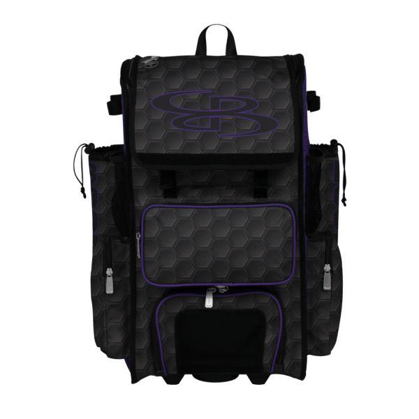 Rolling Superpack Hybrid 3DHC Bat Pack Black/Purple