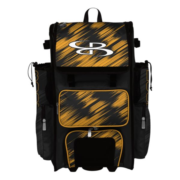 Superpack Hybrid Scratch Rolling Bat Bag
